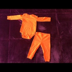 Primary - Orange Baby Outfit - 9-12 months